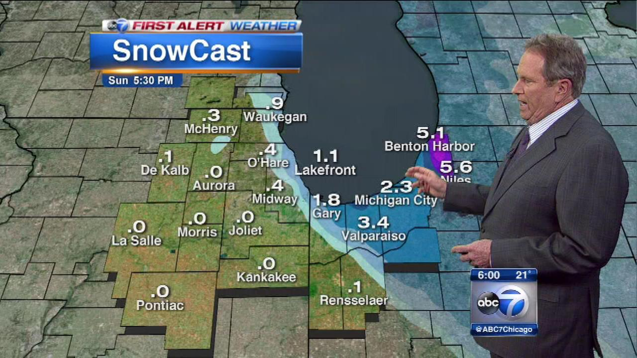 More cold and some light snow is in the weekend forecast.