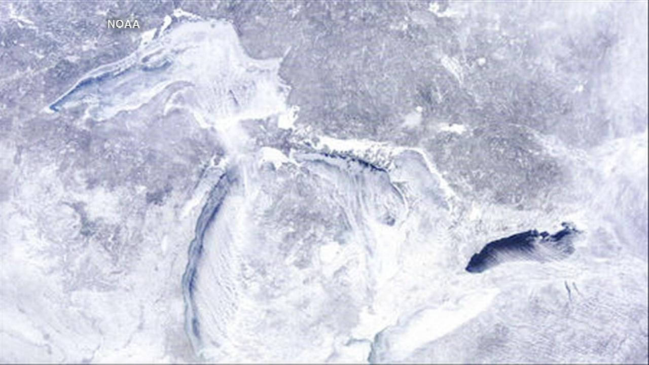great lakes ice