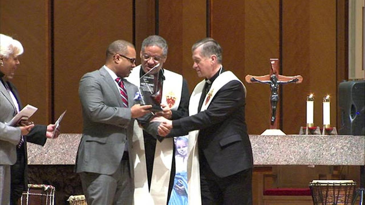 Archbishop Blase Cupich leads prayer service for Black History Month