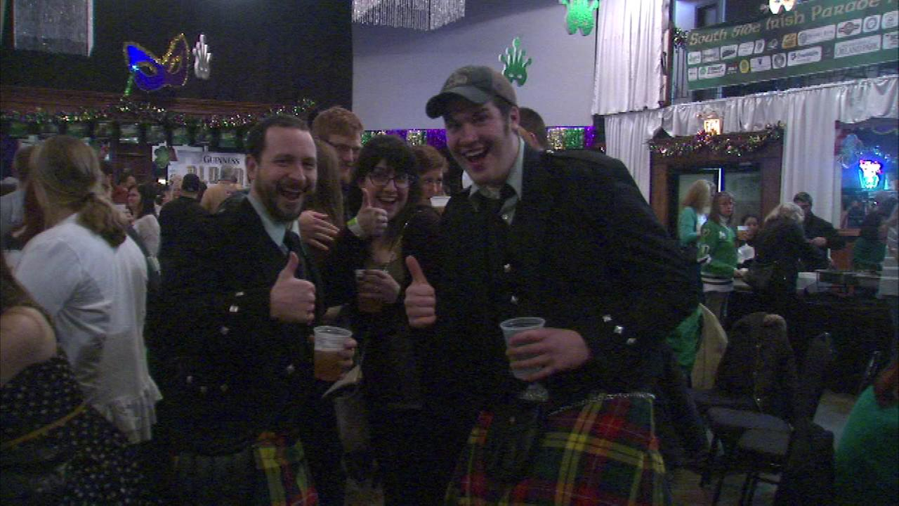 A fundraiser was held Saturday evening for the South Side Irish Parade.