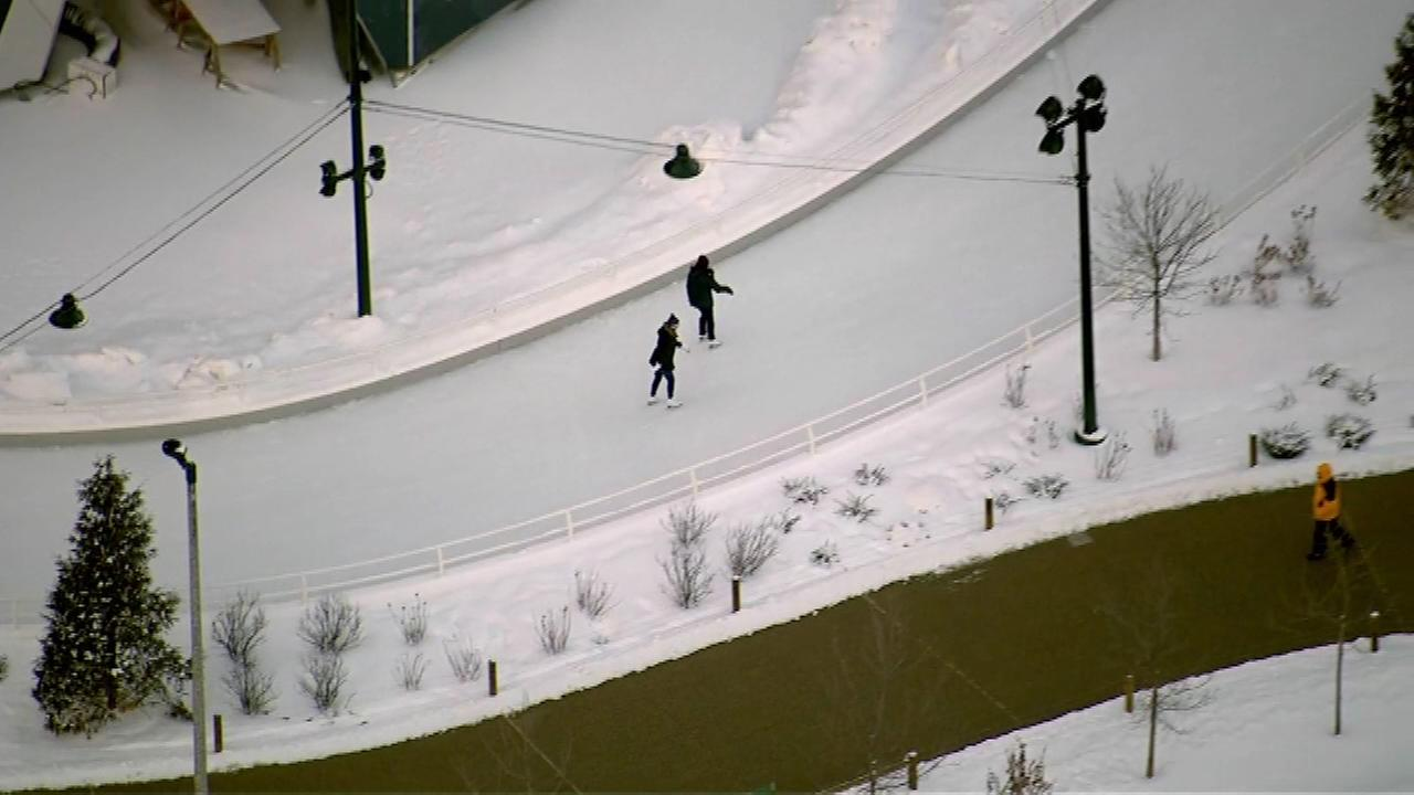 The Maggie Daley Park ice skating ribbon will stay open an extra week until Sunday, March 8.