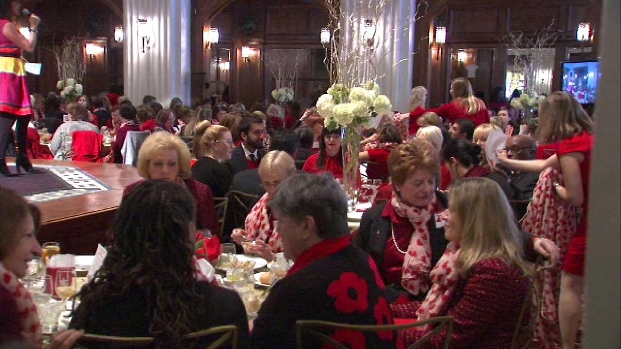 'Go Red for Women' raises awareness about cardiovascular disease
