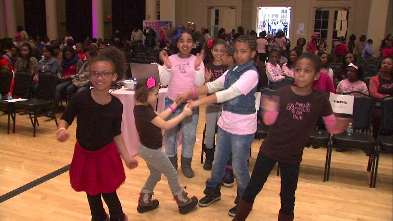 Hundreds of girls of color across the Chicago area were encouraged to celebrate their culture Saturday.