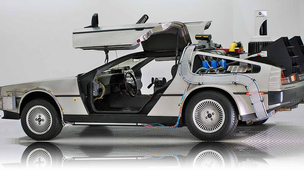 A 1981 DeLorean.