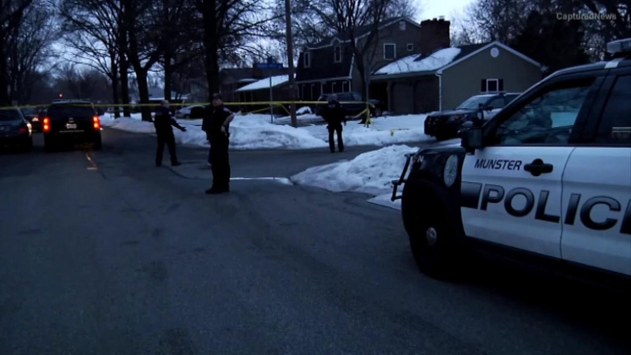 Two people are hospitalized in grave condition, after a shooting in northwest Indiana.