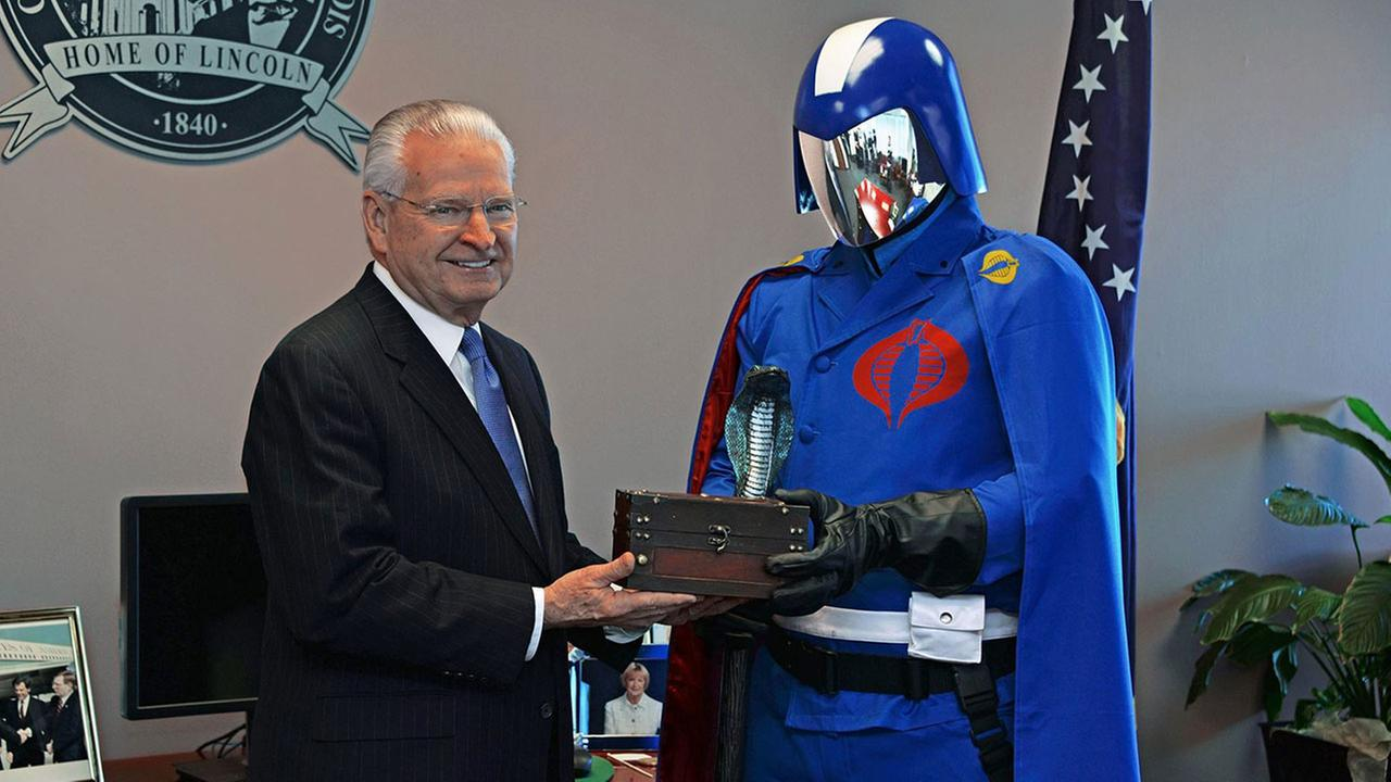 G.I. Joe villains get key to the city of Springfield, Illinois