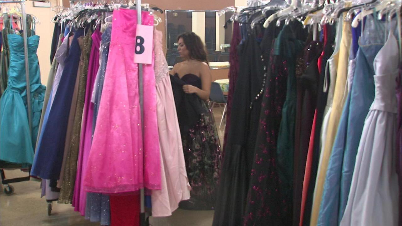 Thousands of high school girls will be dressed like royalty this prom season thanks to an organization called Princess Closet.