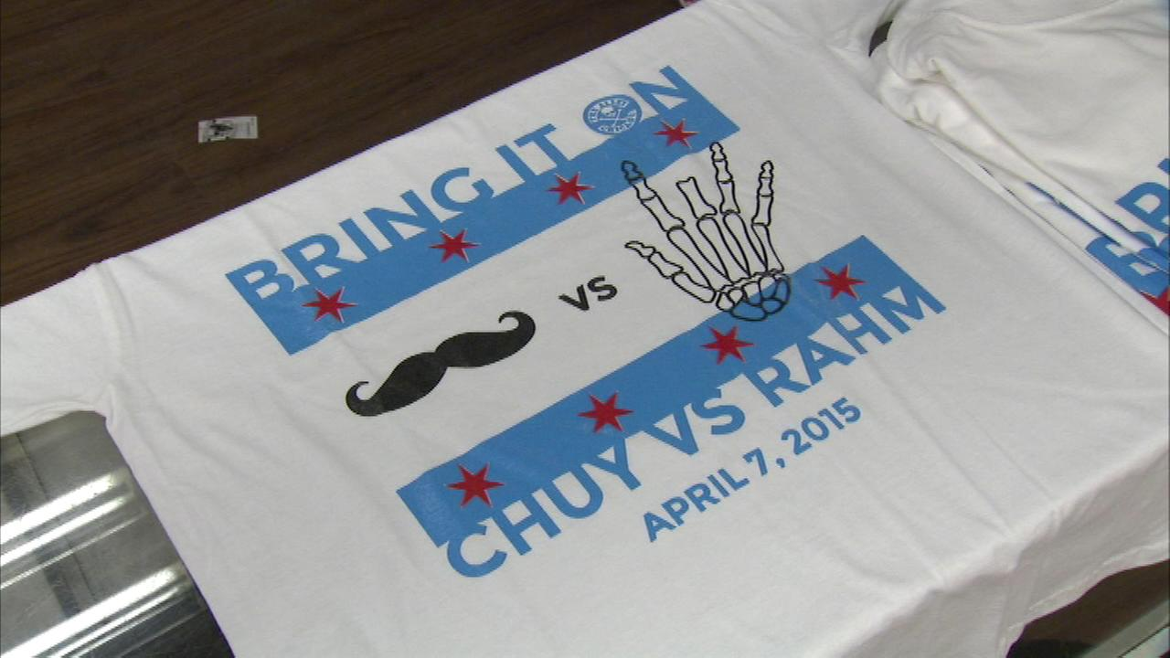 The Alley sells Chuy-Rahm match-up t-shirt