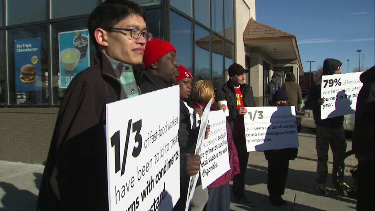 McDonalds workers are demanding that the company needs to do more to keep them safe.