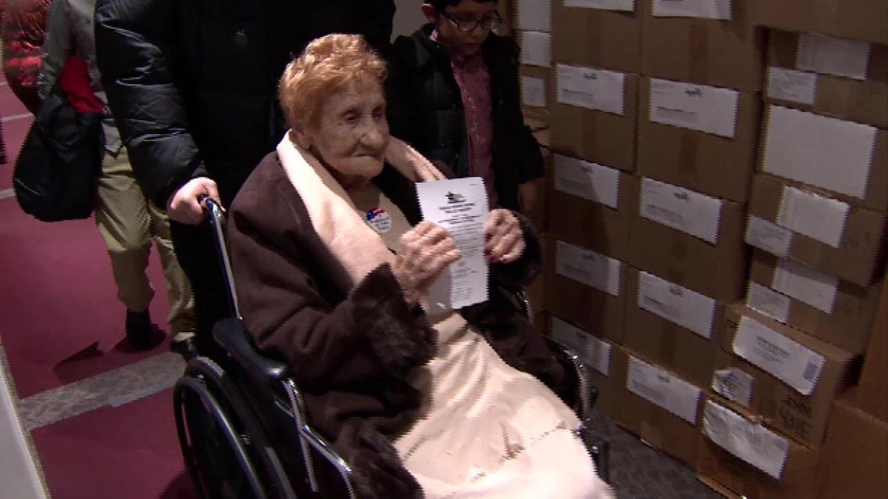 102-year-old celebrates birthday, becomes U.S. citizen and votes