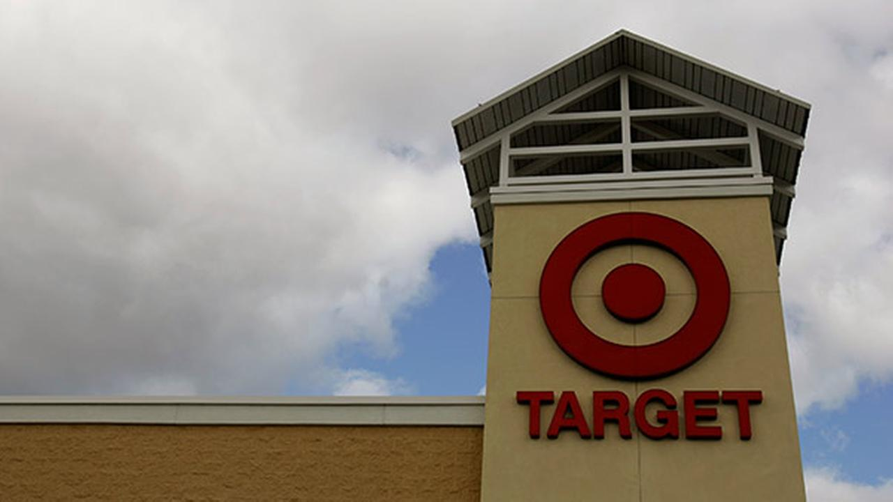 The Target logo is seen on the front of a Target store on Nov. 7, 2007 in Mechanicsburg, Pa.