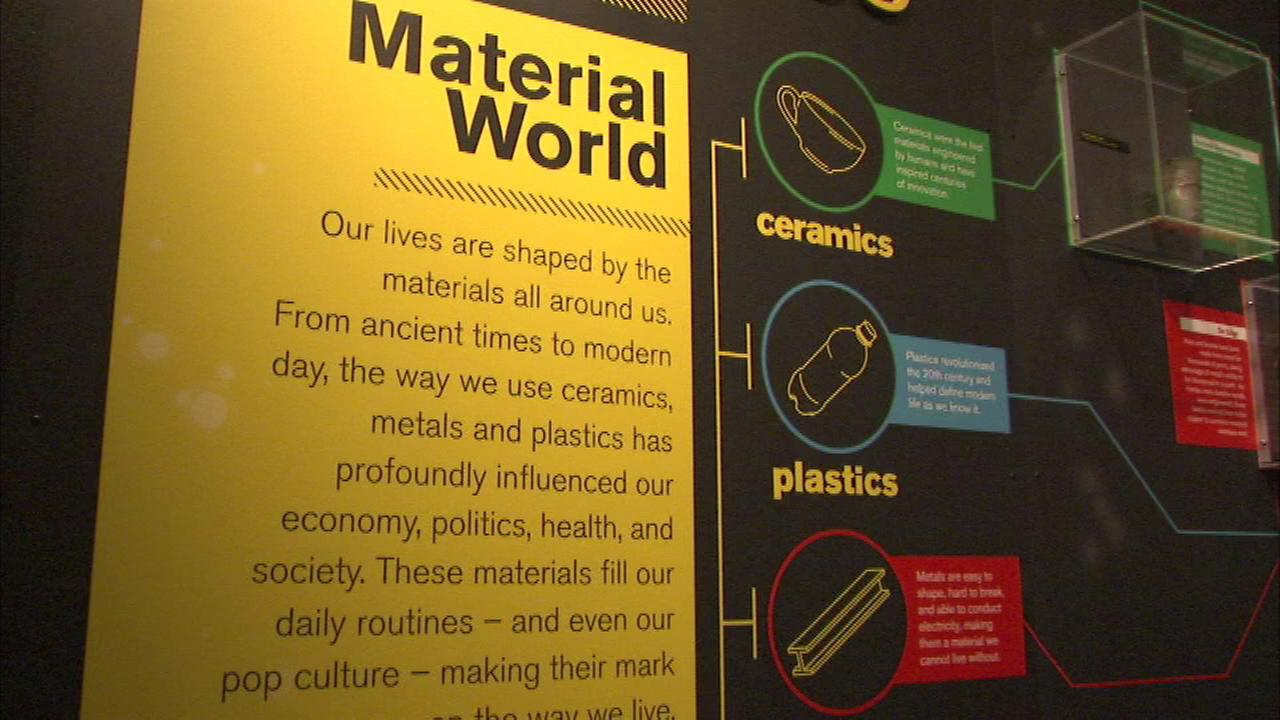 """Museum of Science and Industry opens """"Material World"""" exhibit"""