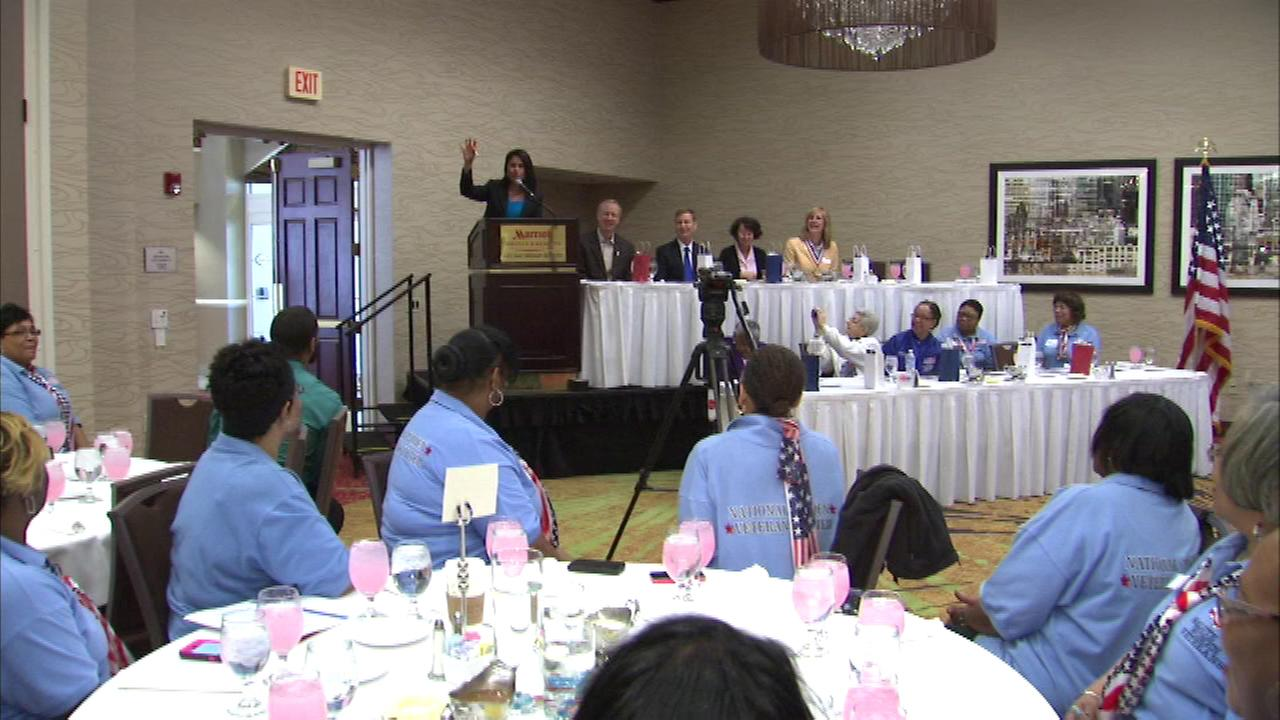 A day-long event aims to help women who are active in military service and those who are veterans.