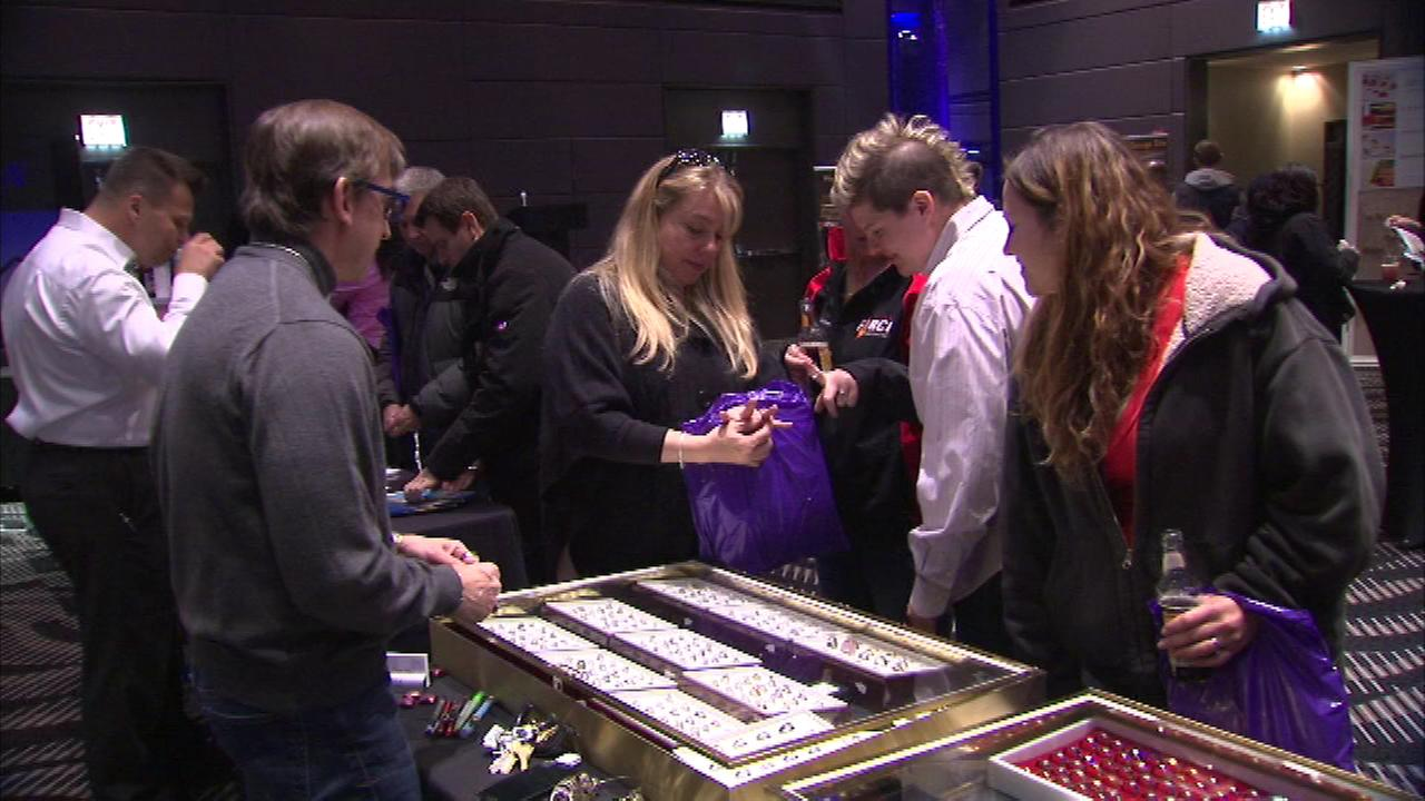 The LGBT Wedding Expo was held at the Hard Rock Hotel in downtown Chicago.
