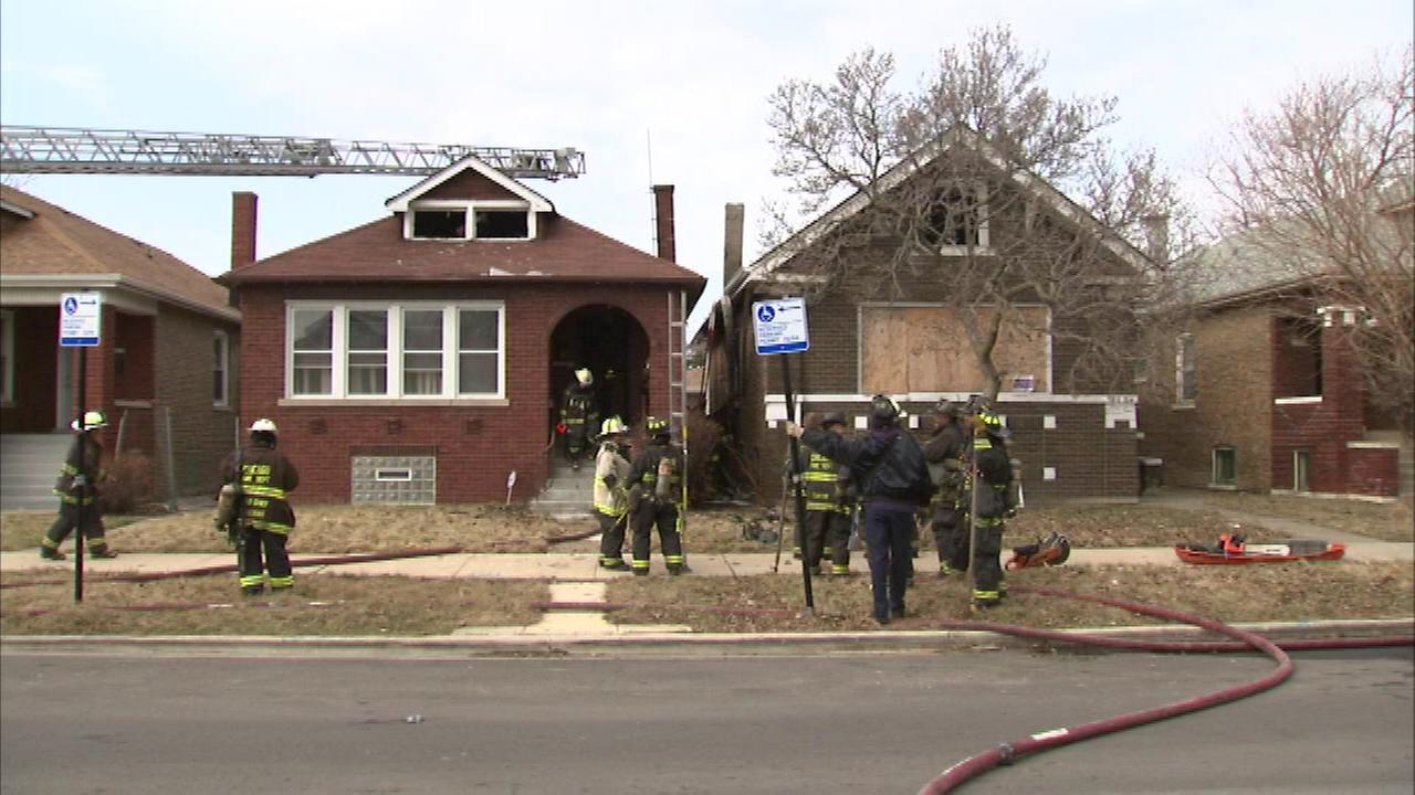 Investigators are trying to figure out how a fire started at a home on Chicagos South Side Sunday morning.