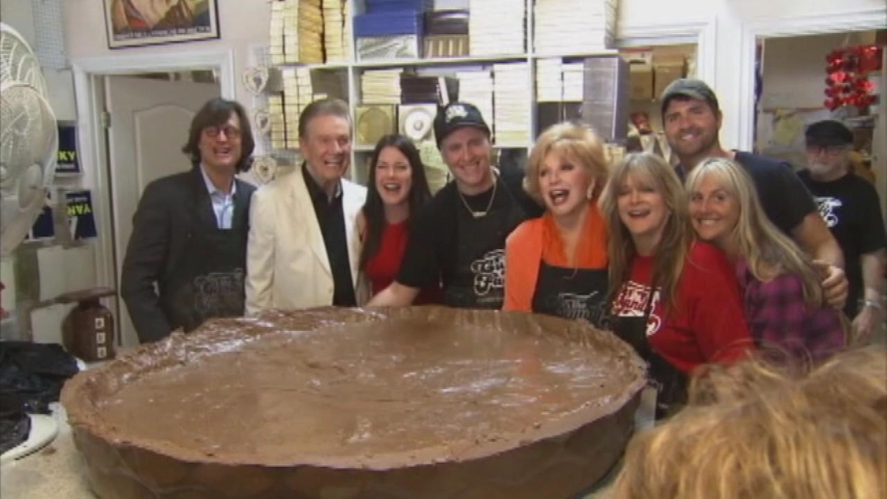 North Hollywoods The Candy Factory has set out to break the world record for the largest peanut butter cup.