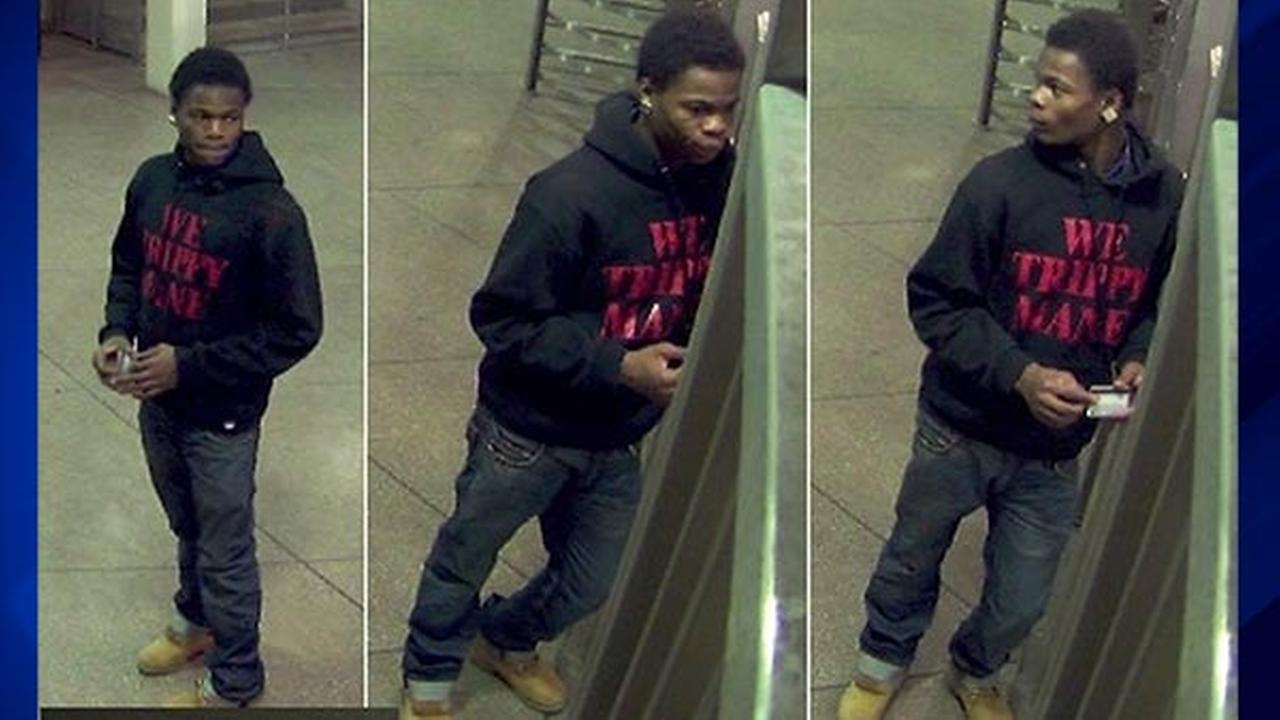 Surveillance photos of the man Chicago police say is responsible for a series of armed robberies in Logan Square.