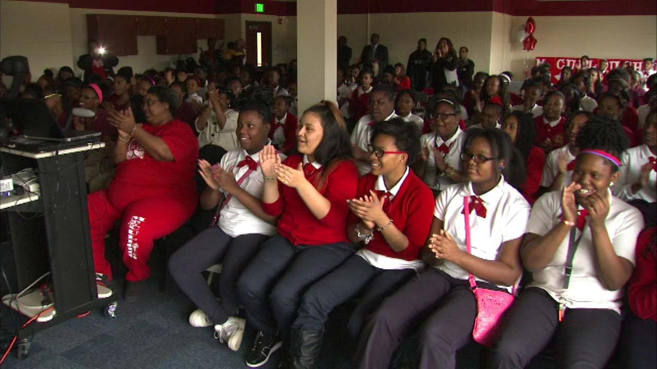 Gary students awarded $25,000 in Samsung contest