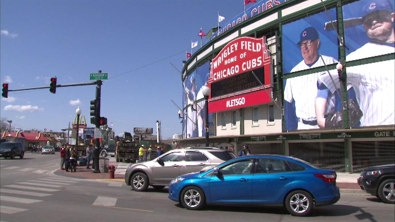 As the Wrigley Field renovations are far from over, the Chicago Cubs are preparing for their home opener against the St. Louis Cardinals Sunday night.