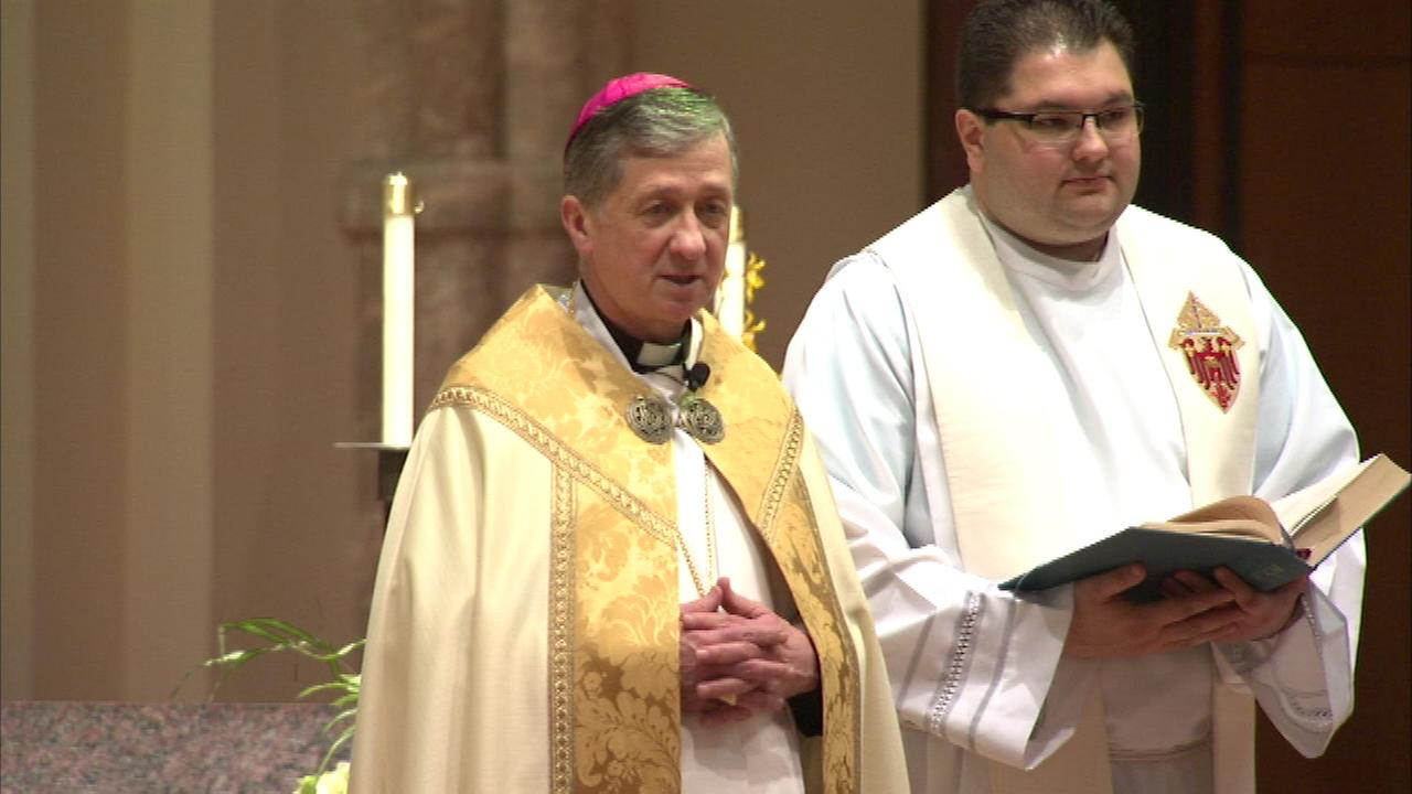 Archbishop Blase Cupich continues to celebrate Holy Week, his first as archbishop of Chicago.