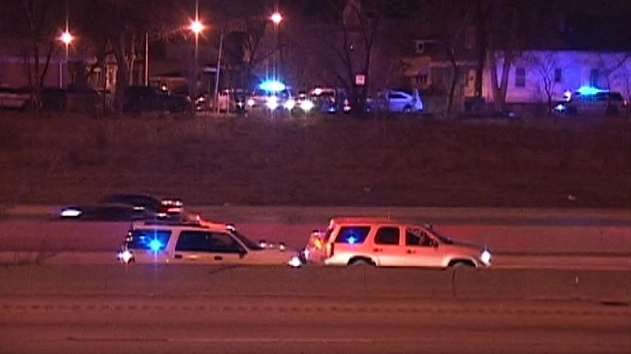 Man on run from police hit by car on Bishop Ford, officials say