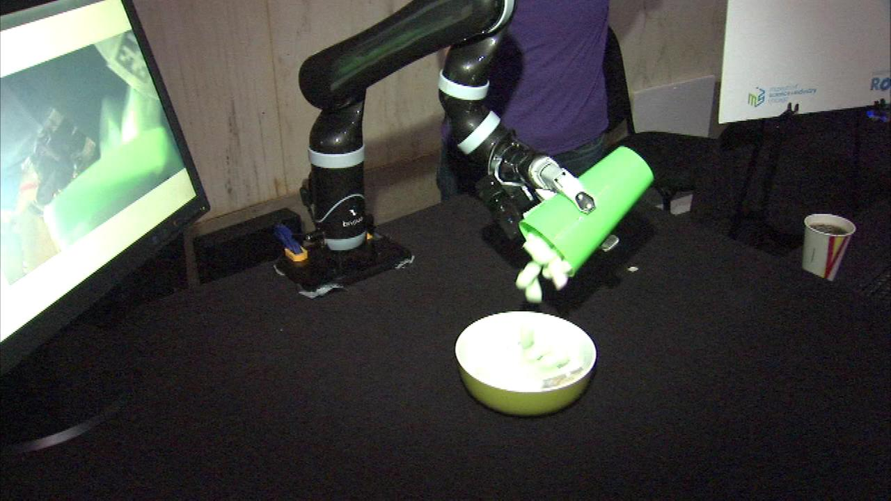 NU robots highlight final day of National Robotics Week