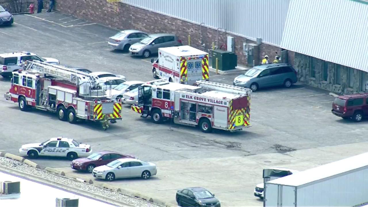 An investigation is underway after a man was killed Wednesday afternoon in an accident at Acme Industries in Elk Grove Village.