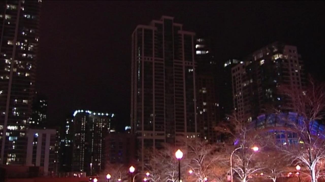 Power outage overnight near Lake Shore East Park
