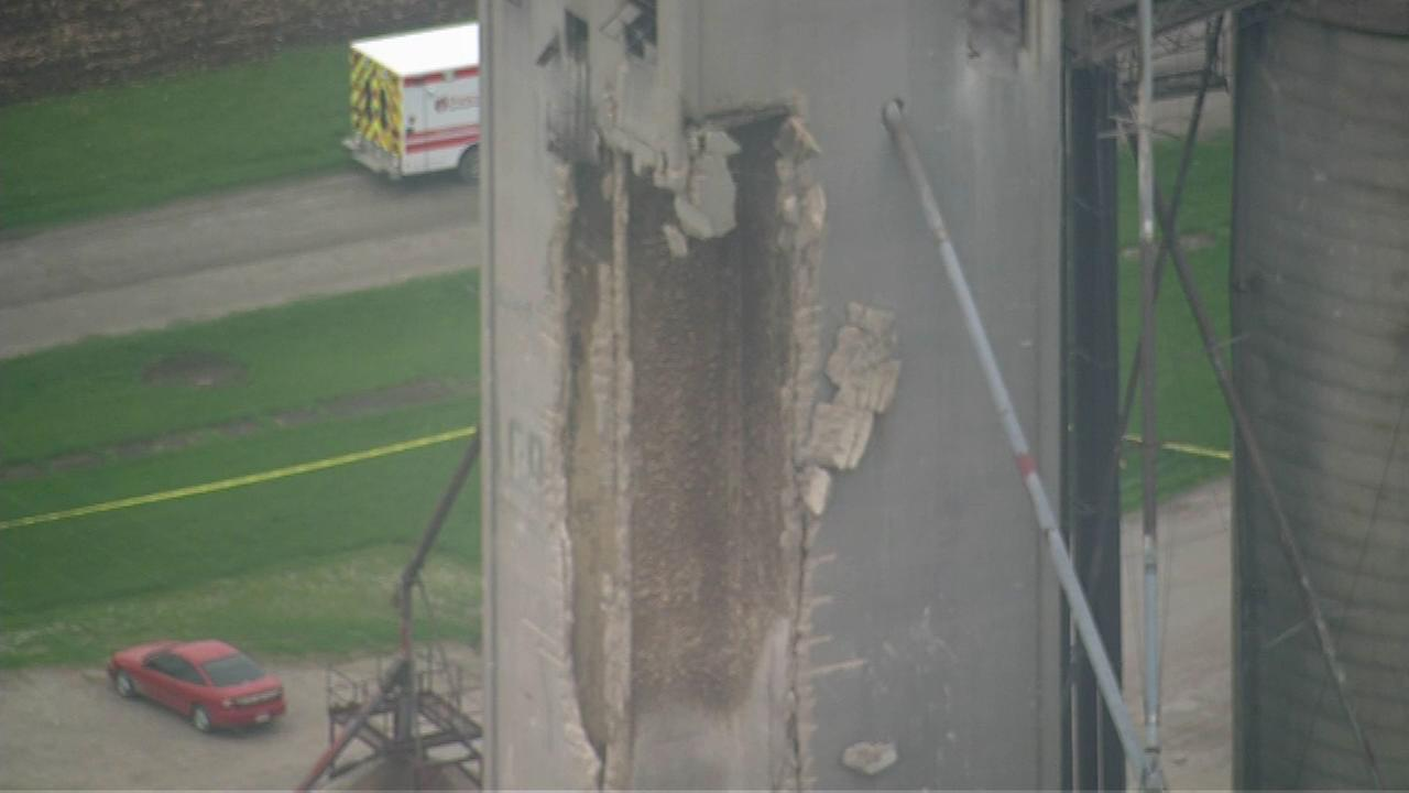 Four injured in LaPorte Co. grain elevator explosion