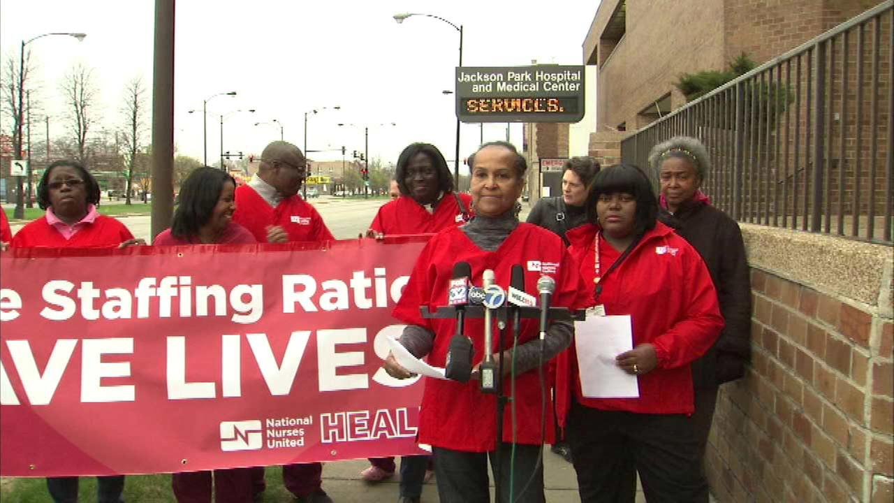 Jackson Park Hospital nurses say low staffing is causing inadequate care