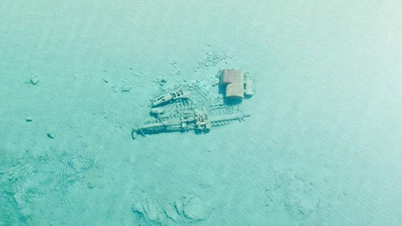 shipwreck lake michigan