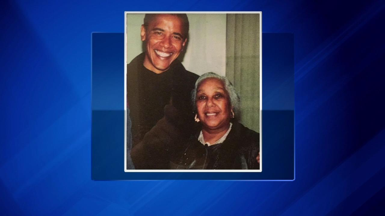 Alice Tregay is seen with Barack Obama in this undated photo.