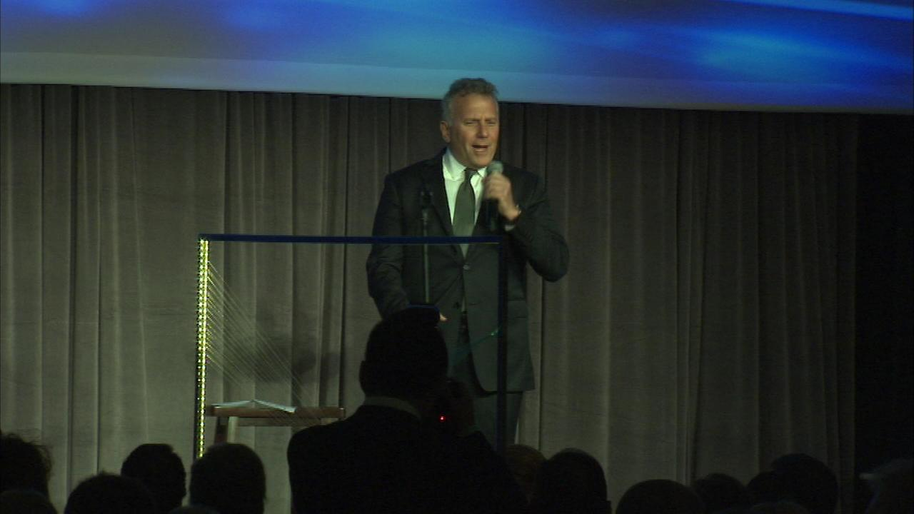 Actor and author Paul Reiser was the featured guest at Saturdays Discovery Ball benefiting the American Cancer Society.