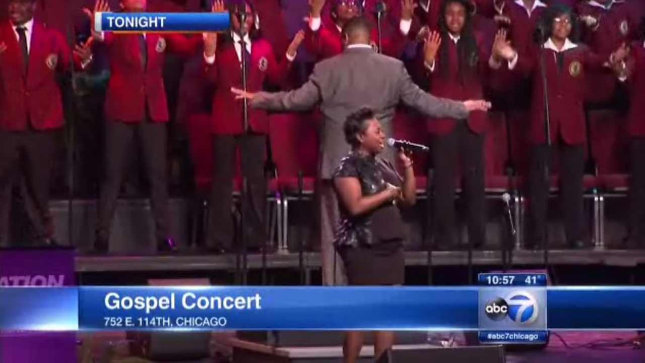 A free concert in Chicago delighted crowds to the sounds of gospel music this weekend.