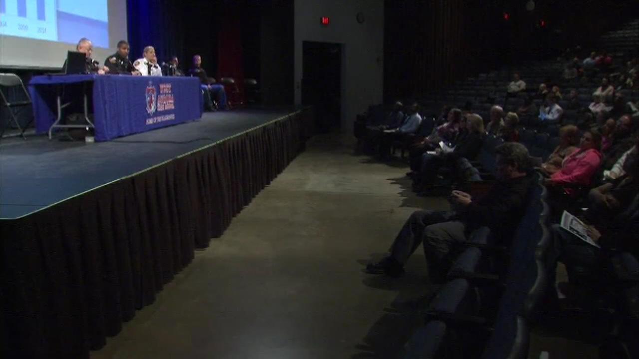 Aurora crime forum draws big crowd