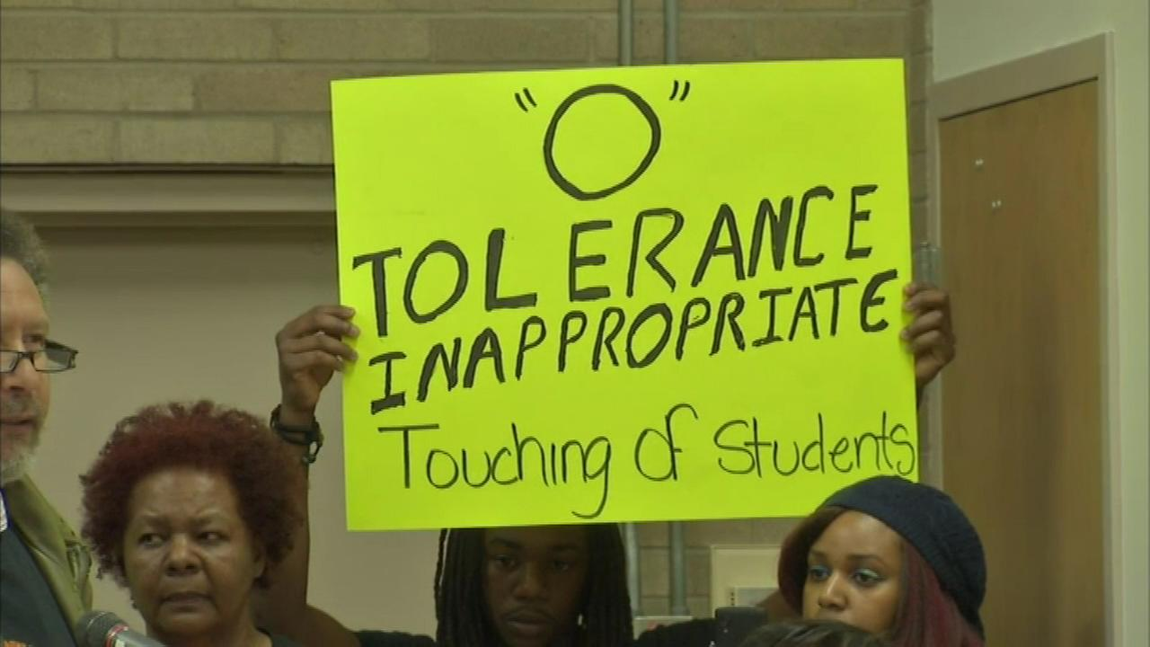 Activists stage sit-in over Waukegan school sexual misconduct investigations
