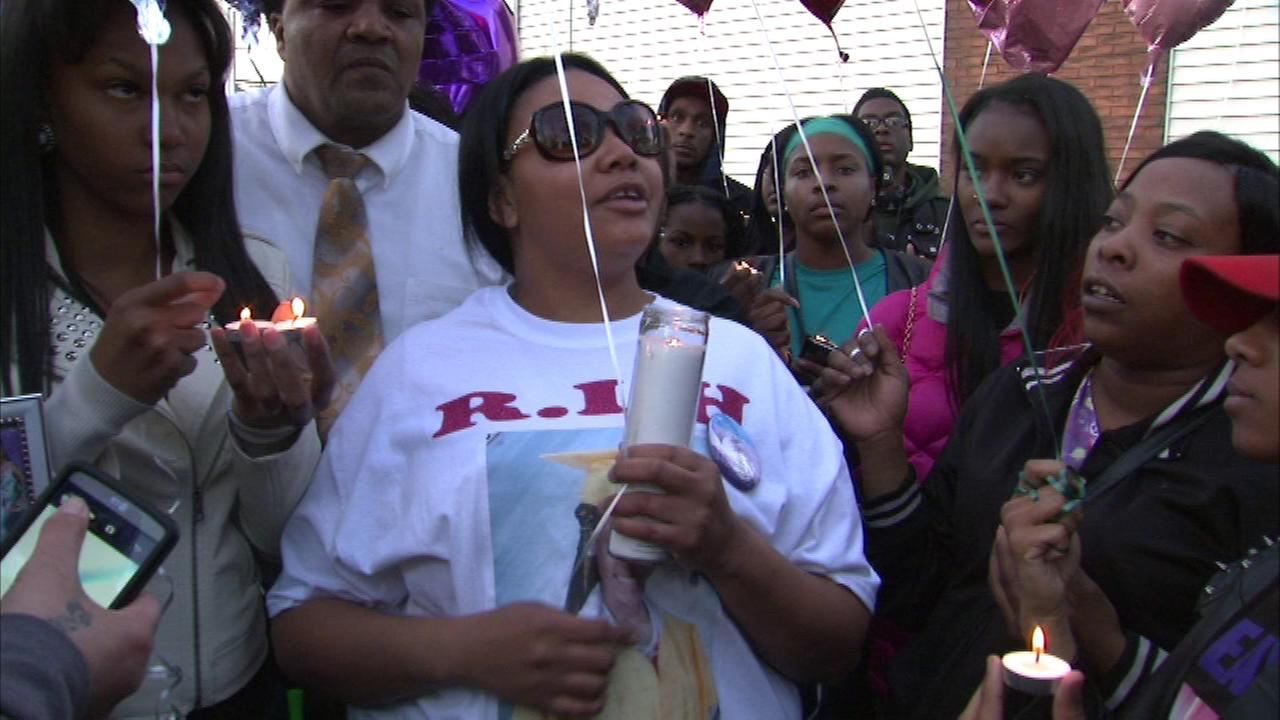 Endia Martin remembered at vigil 1 year after shooting death