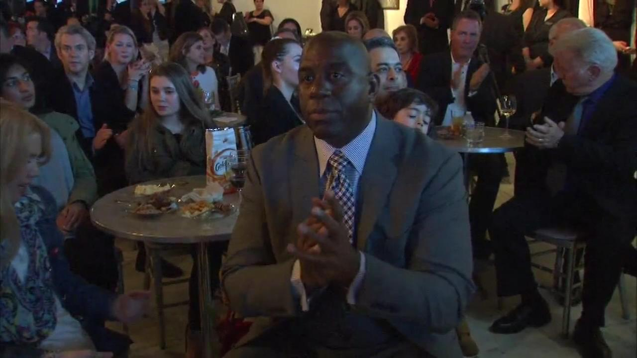 Magic Johnson attends We Day kickoff dinner