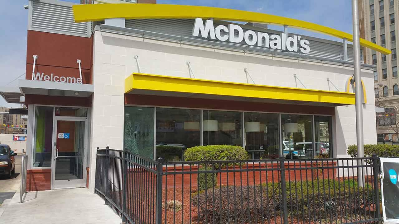 Window shattered at Uptown McDonald's after gunfire