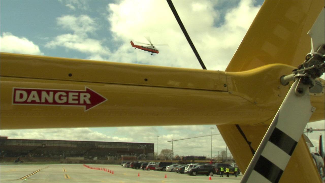New heliport opens in Near West Side