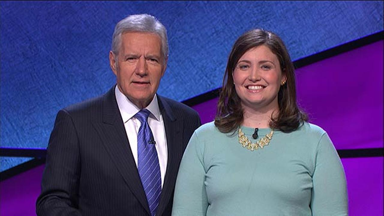 Julia Collins on Jeopardy!