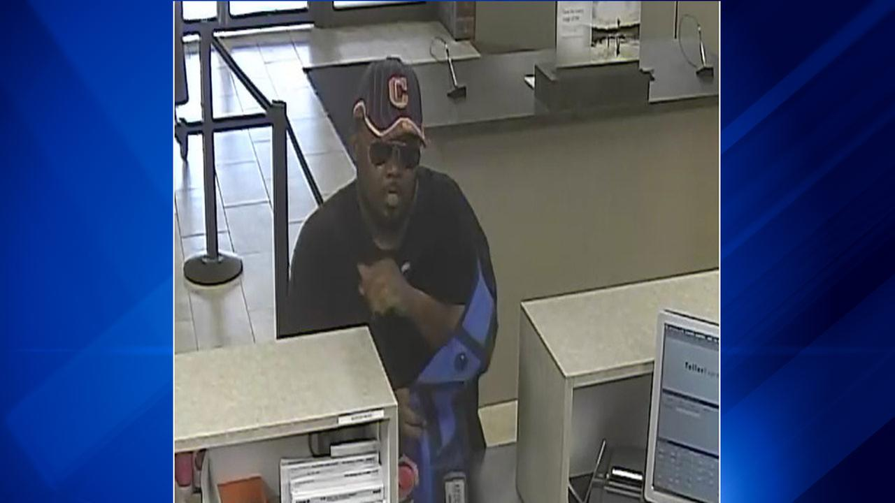 Suspect wanted in Skokie, Mount Prospect bank robberies