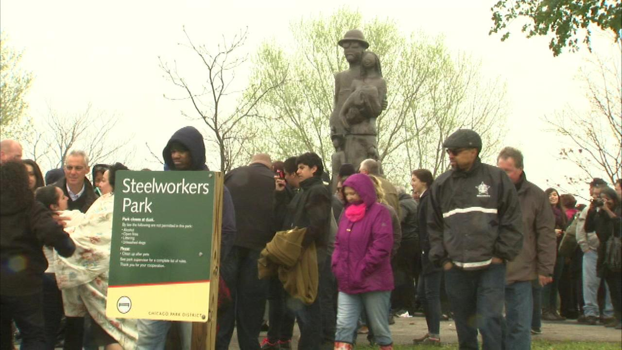 'Steelworkers Park' dedicated at former US Steel site