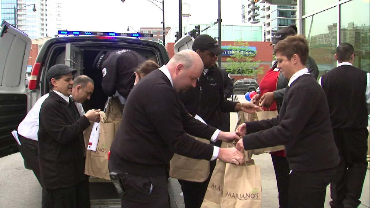 Chicago Police 'Stuff the Squad' benefits those in need