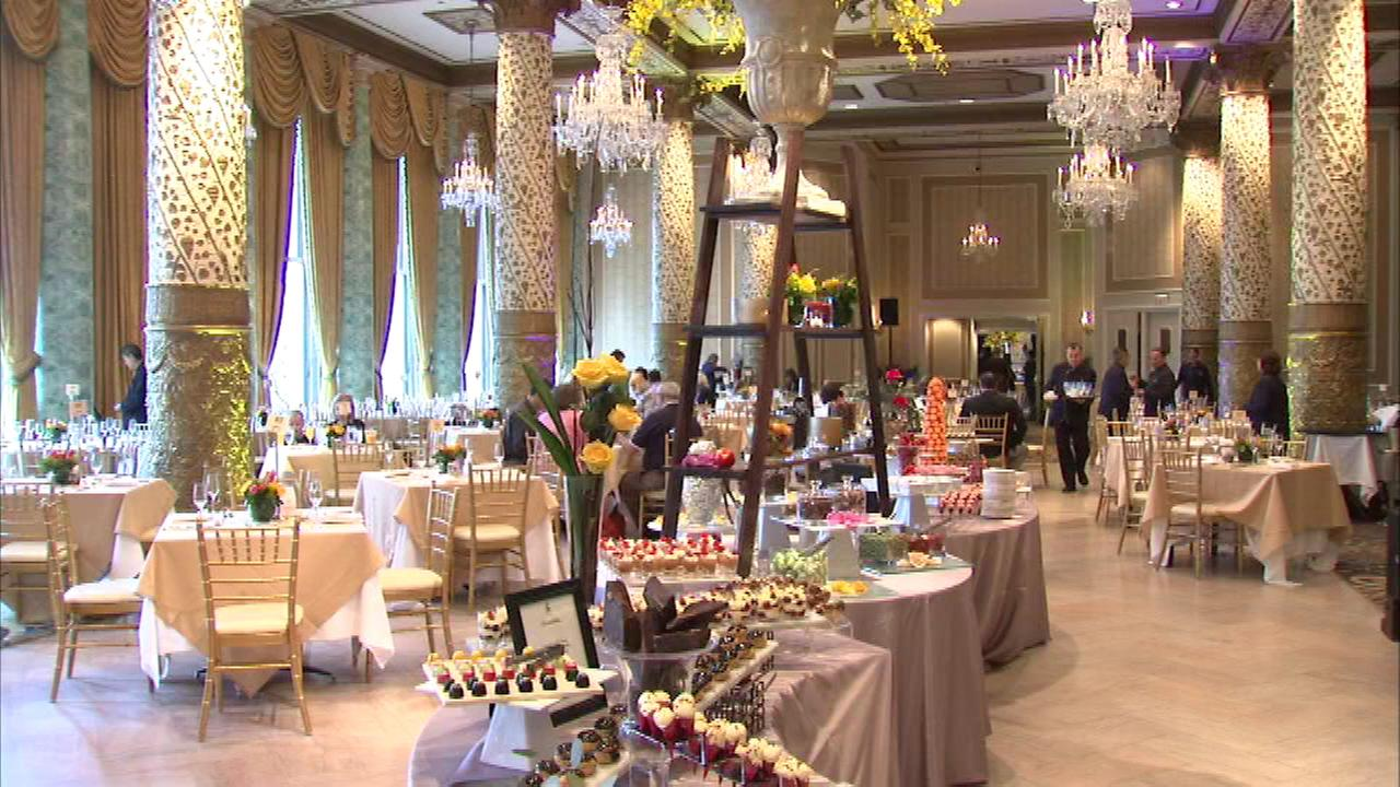 Some moms were treated to a fancy Mothers Day brunch at the Drake Hotel in downtown Chicago Sunday.