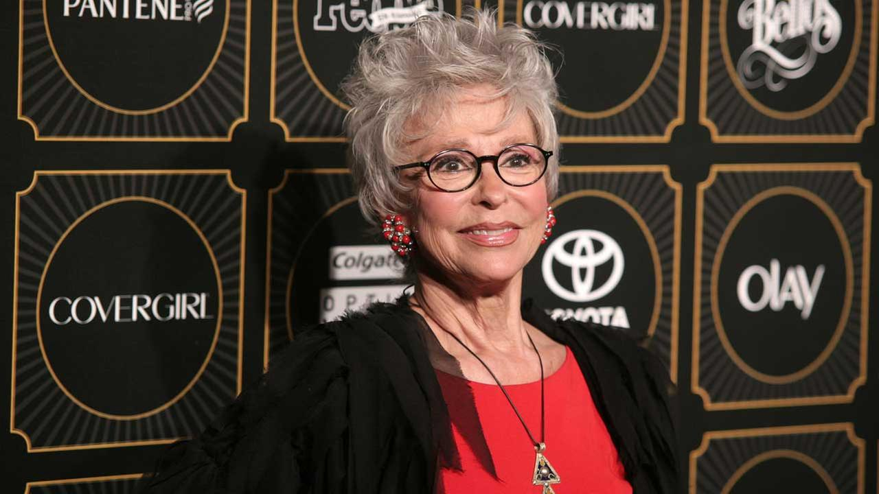 (FILE)  May 12, 2014 file photo, actress and singer Rita Moreno attends People en Espanols 50 Most Beautiful Issue Celebration in New York.