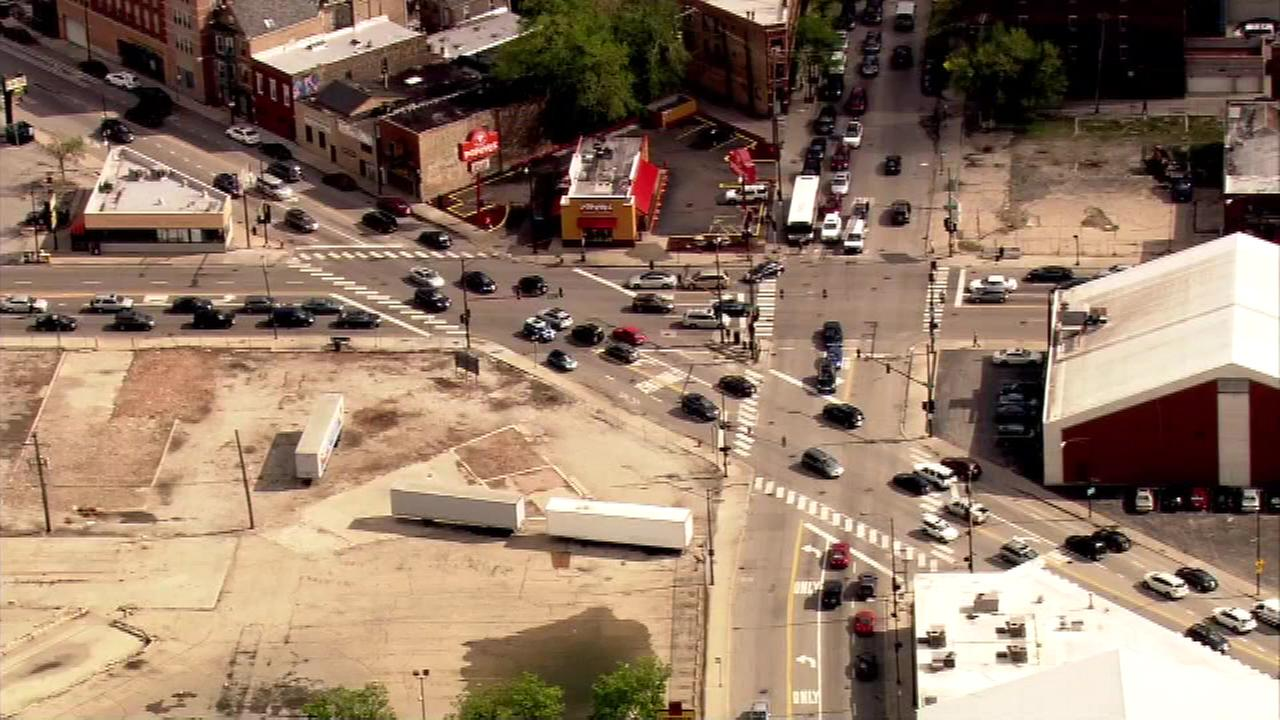 Work begins on Bucktown intersection