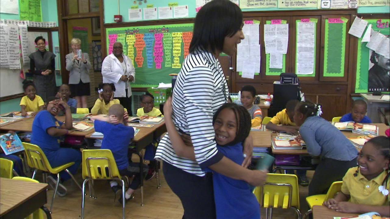 Teacher from Dixon Elementary in Chatham awarded Golden Apple