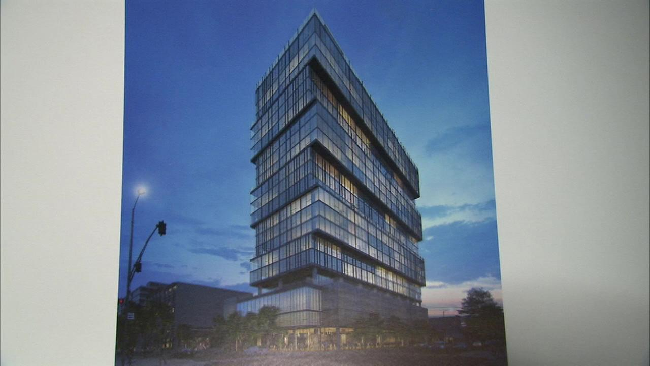 Plans for 22-story tower in Ed Debevic's space revealed