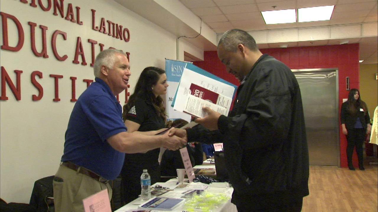 National Latino Education Institute hosts career fair